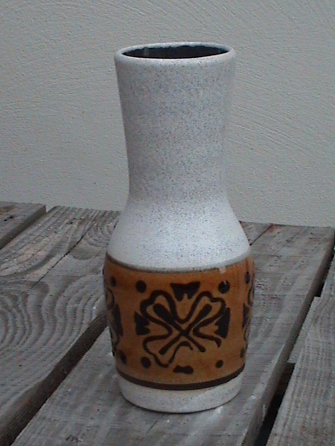 Vintage Mid Century German Art Pottery West Germany Dumler